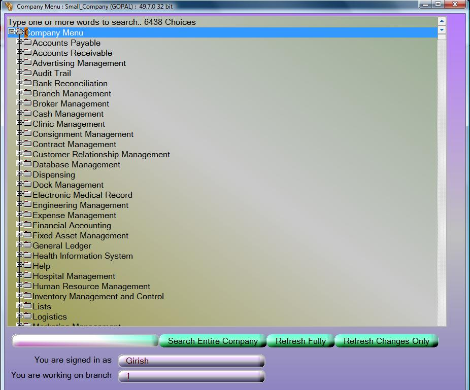 Dhanalak Multi Branch Inventory 64bit screenshot